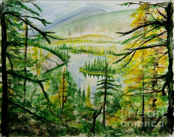 Alaska Dreamin' Print by Bev Arnold
