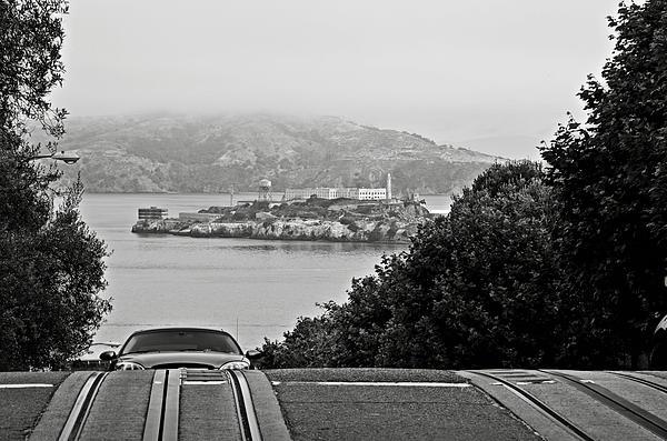 Alcatraz Island From Hyde Street In San Francisco Print by RicardMN Photography