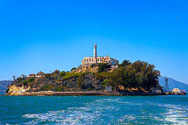 Alcatraz Island Print by James O Thompson