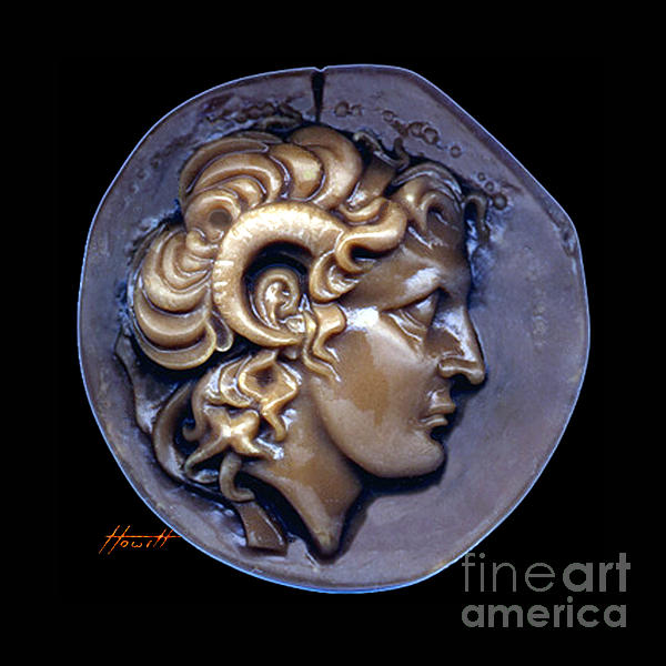 Alexander The Great Print by Patricia Howitt