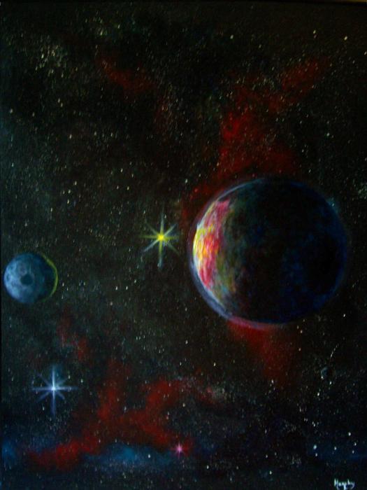 Alien Worlds Print by Murphy Elliott