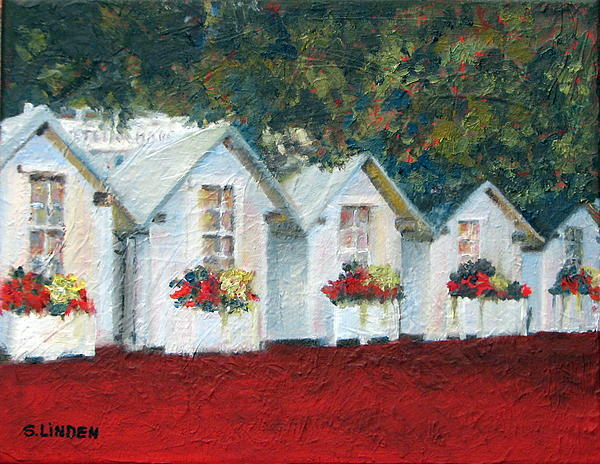 All In A Row Print by Sandy Linden