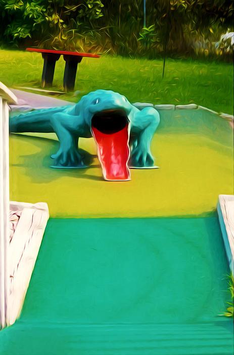 Alligator Print by Lanjee Chee