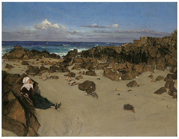 Alone With The Tide Print by James Abbott McNeill Whistler