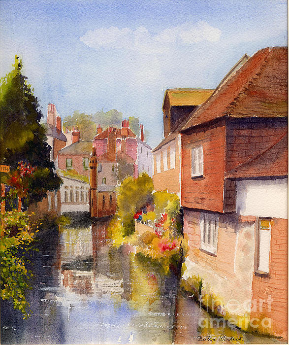 Beatrice Cloake - Along the Stour Canterbury