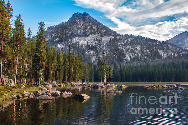 Alpine Beauty Print by Robert Bales
