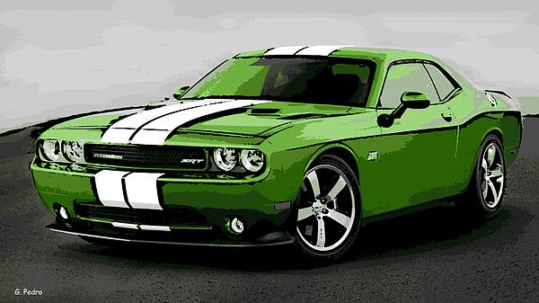 American Muscle Print by George Pedro