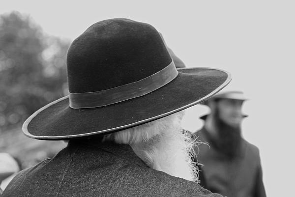 Amish Faces Print by Mary Carol Story