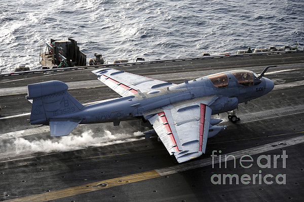 An Ea-6b Prowler Takes Print by Stocktrek Images