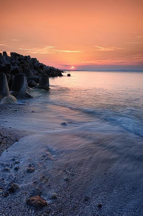 An Evening By The Sea Print by Igor Baranov