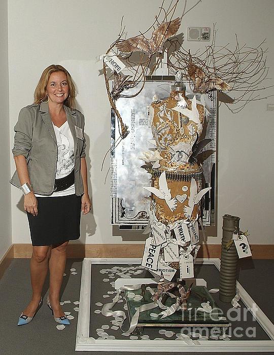 Anahi Decanio Exhibits At Boca Raton Museum Of Art Print by Anahi DeCanio