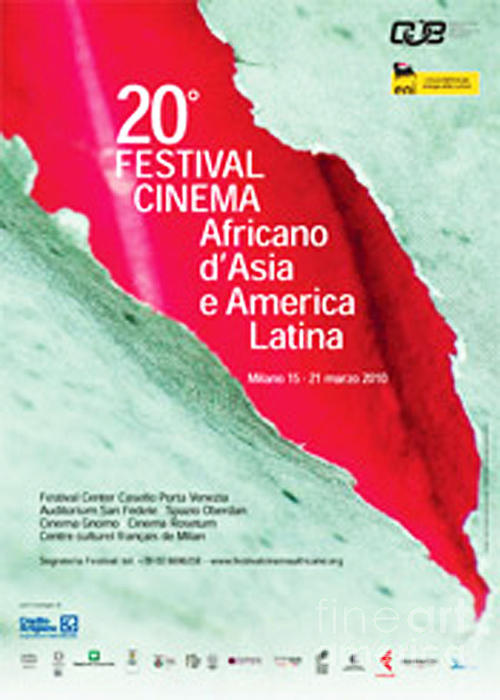 Anahi Decanio Poster For Milan Film Festival Print by Anahi DeCanio