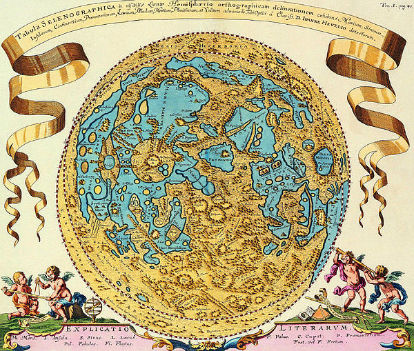 Ancient Map Of The World Print by Gianfranco Weiss