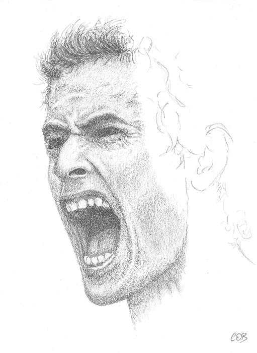 Andy Murray Sketch Print by Conor OBrien