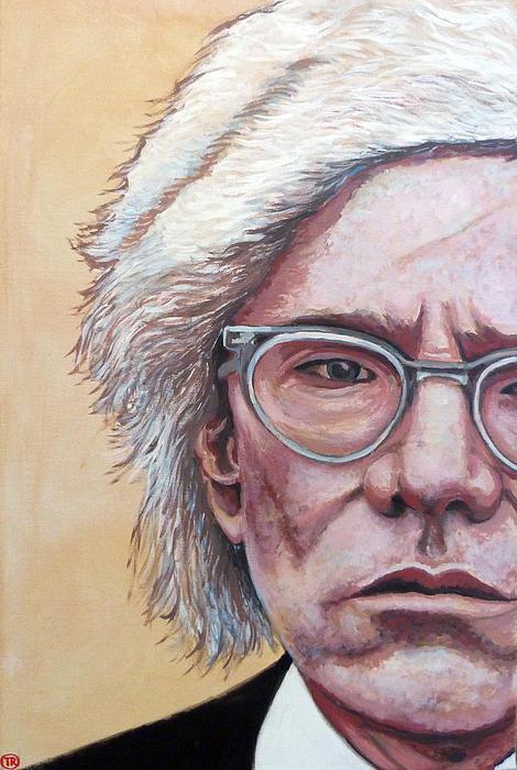 Andy Warhol Print by Tom Roderick