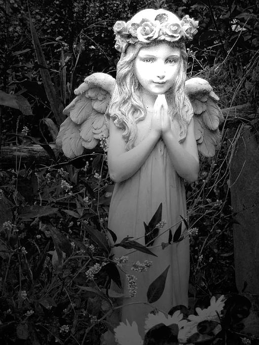 Aimee L Maher - Angel in Black and White