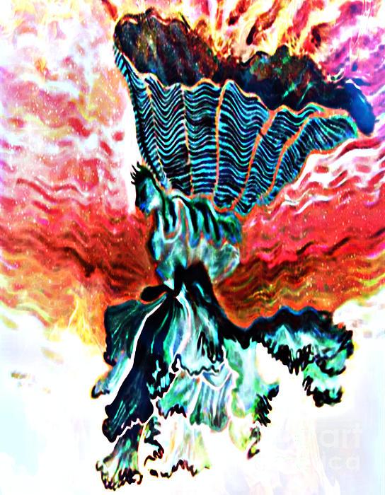 Angel Solar Print by Genevieve Esson