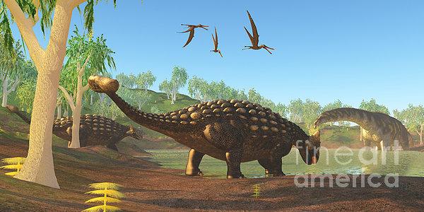 Ankylosaurus By Corey Ford