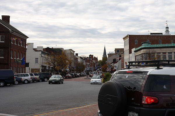 Annapolis Md - 12123 Print by DC Photographer