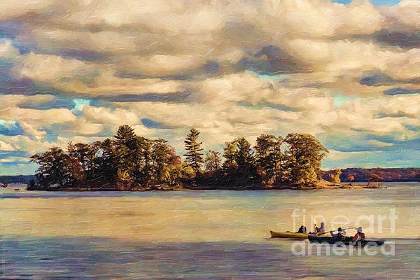 Anne Lacys Hamlin Lake Print by Lianne Schneider and Anne Lacy
