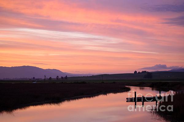 Another Carneros Sunset Print by Jordan Rusin