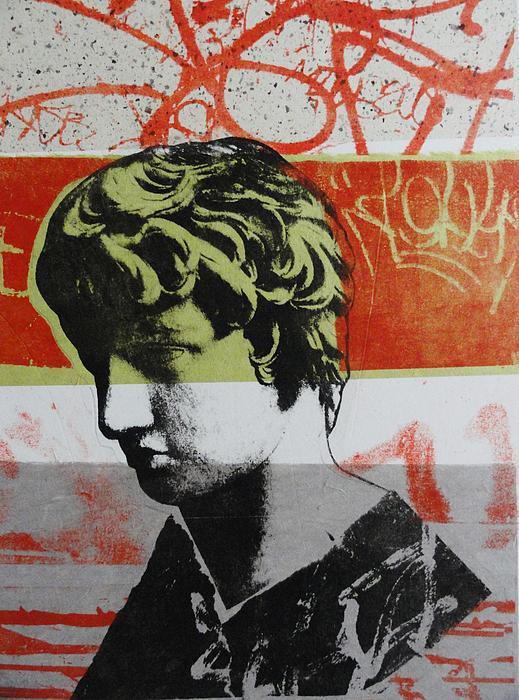 Antinous V Print by Carmine Santaniello