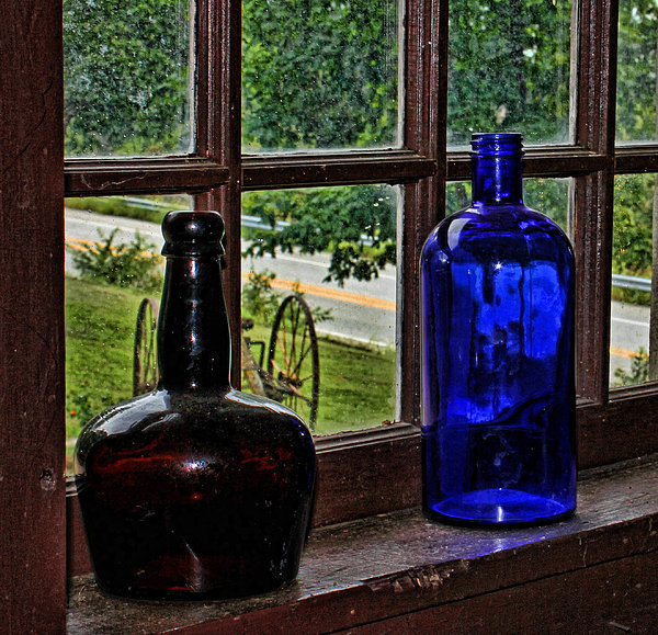 Judy Vincent - Antique Bottles