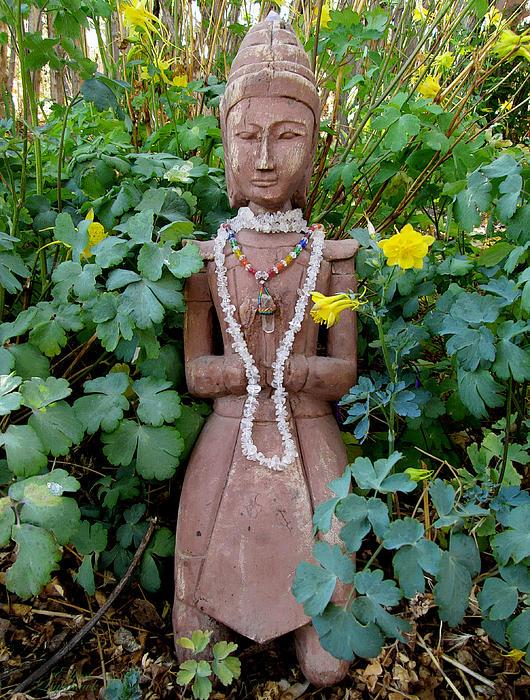 Antique Garden Goddess Print by Eileen Lighthawk