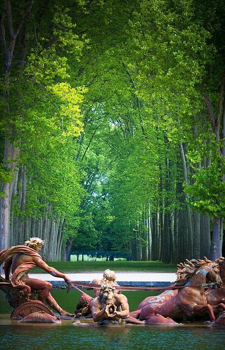 Apollo Fountain Print by Inge Johnsson
