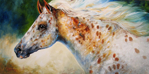 Appaloosa Spirit 3618 Print by Marcia Baldwin
