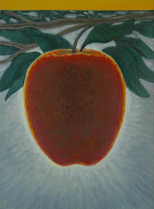 Apple 2 In A Series Of 3 Print by Don Young