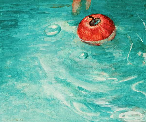 Kathryn Donatelli - Apple in a Tub