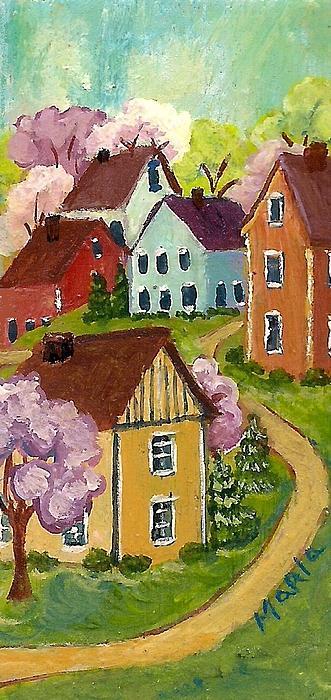 Applecreek Lane Print by MarLa Hoover