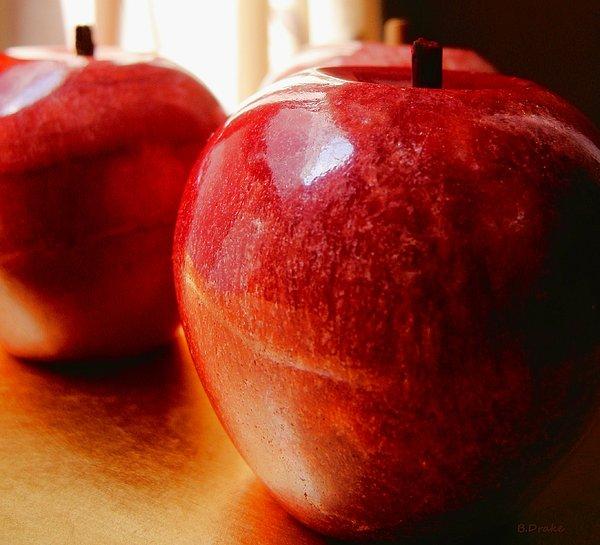 Apples Print by Barbara Drake