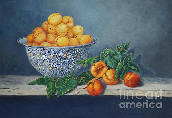 Apricots And Peaches Print by Enzie Shahmiri
