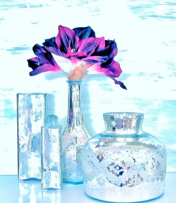 Aqua Essence Print by Marsha Heiken