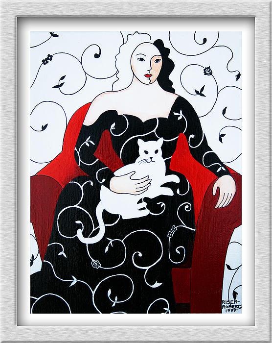 Arabesque Print by Eve Riser Roberts