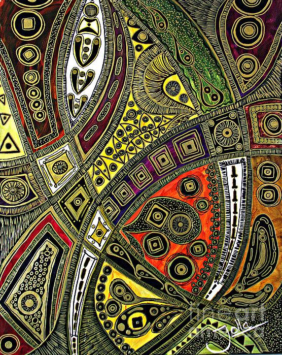 Arabian Nights Print by Jolanta Anna Karolska