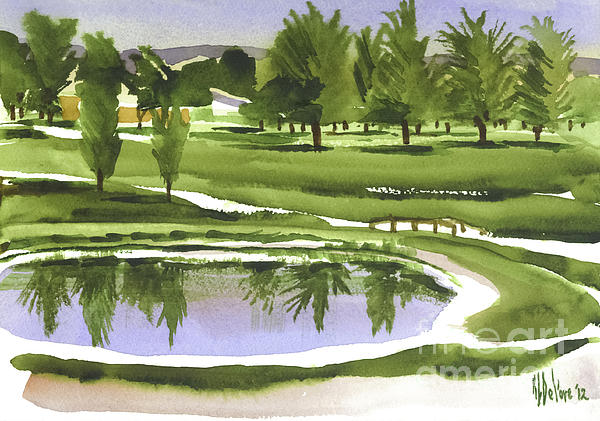 Arcadia Valley Country Club Print by Kip DeVore