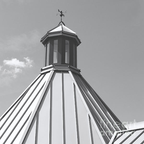Architectural Gray Print by Ann Horn