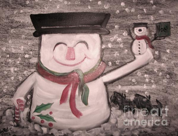 Are You Santa Print by Rachel Carmichael