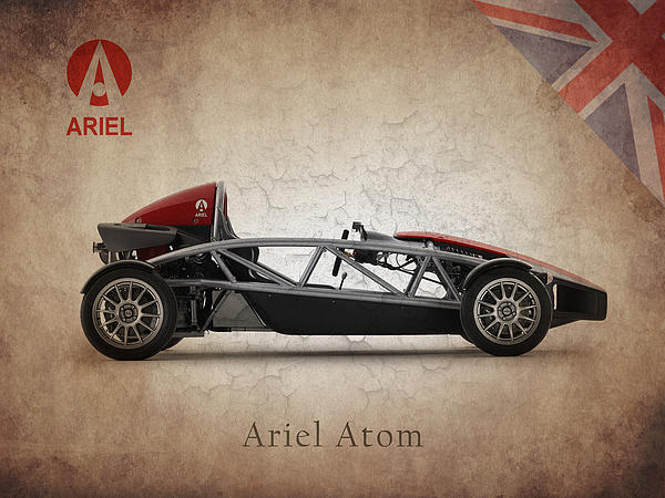 Ariel Atom Print by Mark Rogan