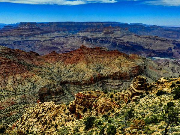 Arizona - Grand Canyon 002 Print by Lance Vaughn