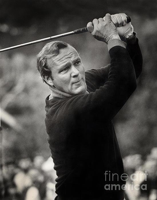 Arnold Palmer Pro-am Golf Photo Pebble Beach Monterey Calif. Circa ...