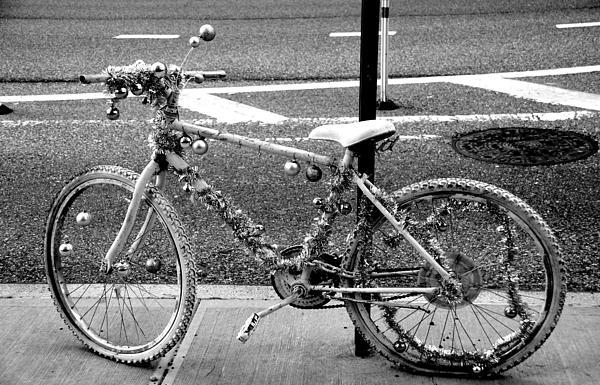 Art Bike Print by Laura Jimenez