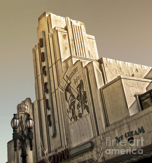 Art Deco Building Print by Gregory Dyer