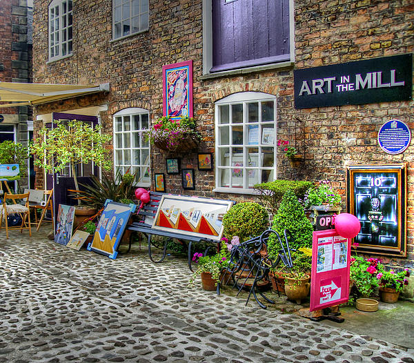 Art In The Mill Print by Michael Braham