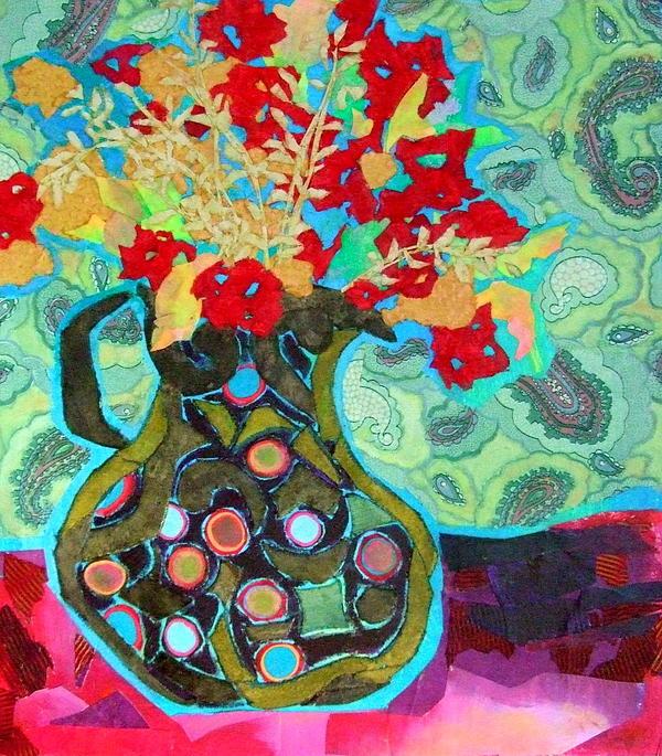 Artful Jug Print by Diane Fine