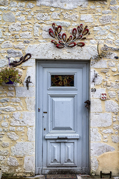 Artistic Door Print by Nomad Art And  Design