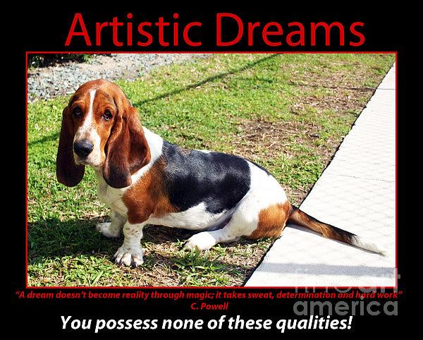 Artistic Dreams Print by John Rizzuto